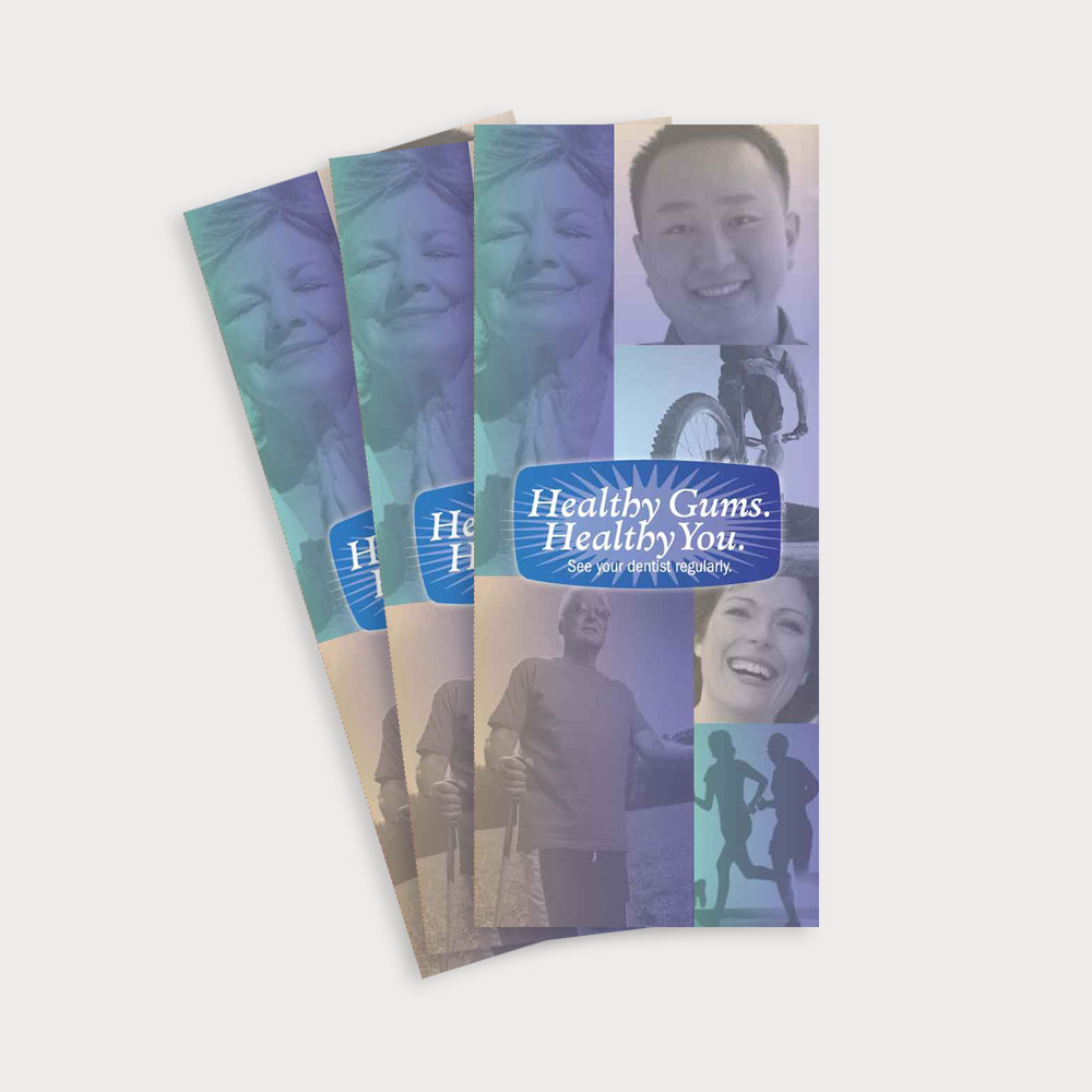 Healthy Gums Healthy You Brochure