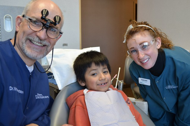 Give Kids a Smile Dentists with Patient